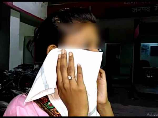 A rape victim tried to immolate herself in police station in Meerut