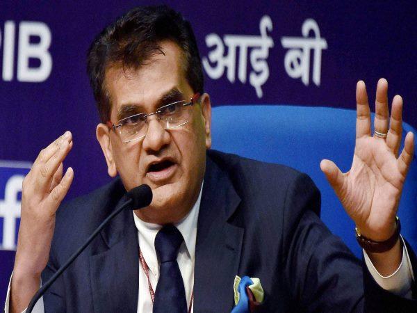 नीति आयोग के CEO अमिताभ कांत बोले, यूपी, बिहार,छत्तीसगढ़ के कारण देश पिछड़ा