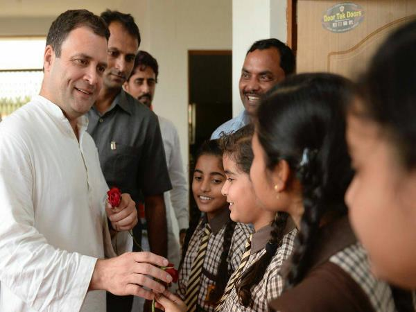 amethi rahul gandhi answered school girls question