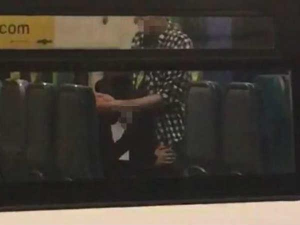 Image result for ट्रेन में ही 'गंदा काम' करने लगा कपल,