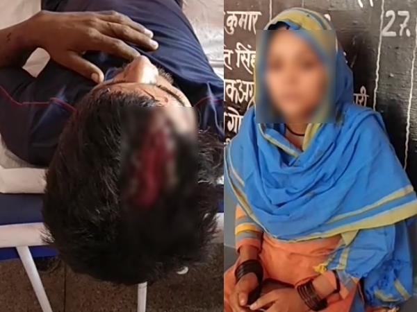shamli 12-13 men beaten a man and his brother after stopping him to talk vulgar with victims wife