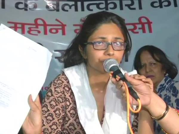 DCW Chairperson Swati Maliwal break her indefinite hunger strike 22 April