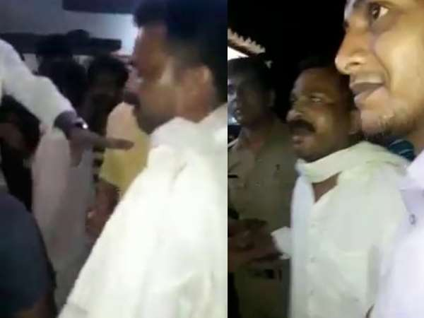 BJP leader threatened to fire police station in Varanasi