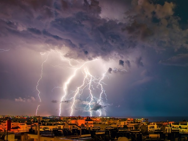 Thunderstorm Alert Rain Squall Is Likely Occur During Next 3 Hours Some Areas Uttar Pradesh