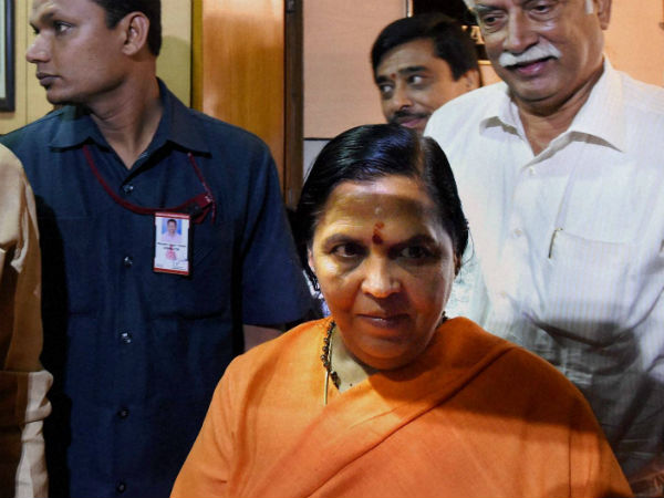 Uma bharti says in chhatarpur I do not eat food with dalits