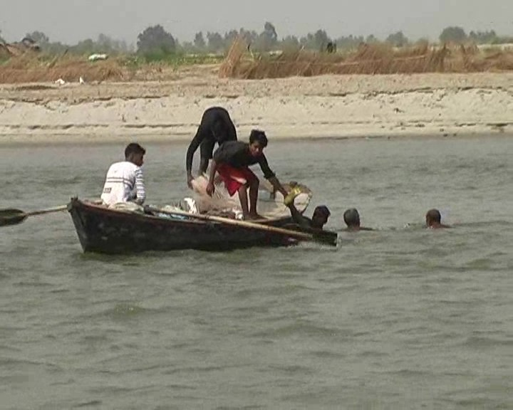 Three friends dead after drowning in Gangar in Kanpur