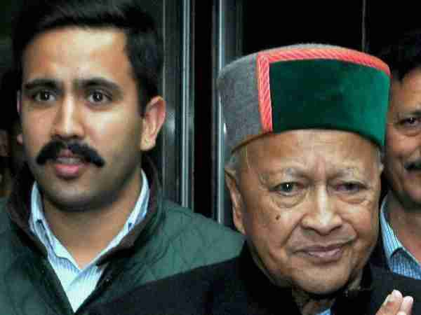 Case against Virbhadra Singh and his son in Padam Palace case