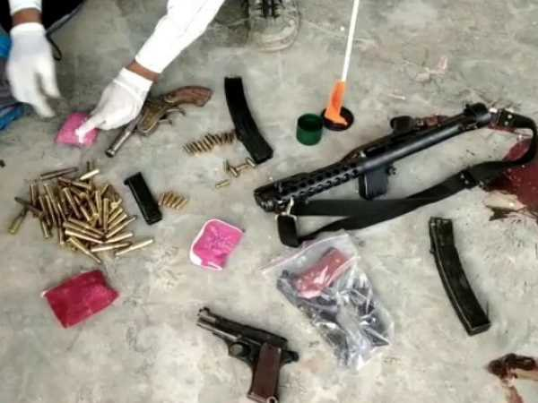 Two gangster killed in encounter by STF in Meerut