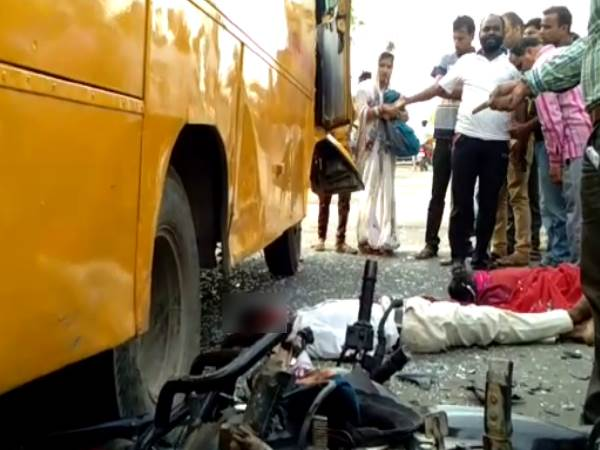 kannauj road accident 3 died from one family