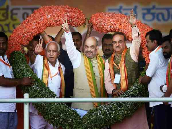 Amit Shah travelled 57,000 kilometres in 34 days To win Karnataka