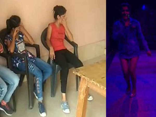 police exposed dirty dance bar in bulandshahr mall