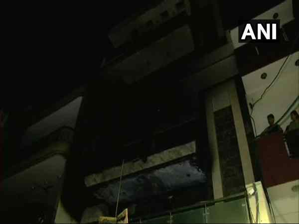 Delhi: Two children died in fire at three-storey building in Adarsh Nagar