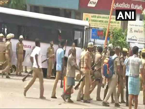 tuticorin protest: One person dead, 3 injured in fresh violence at Anna Nagar in Thoothukudi