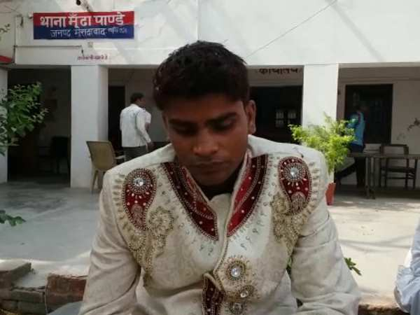A bride called police in marriage in Moradabad