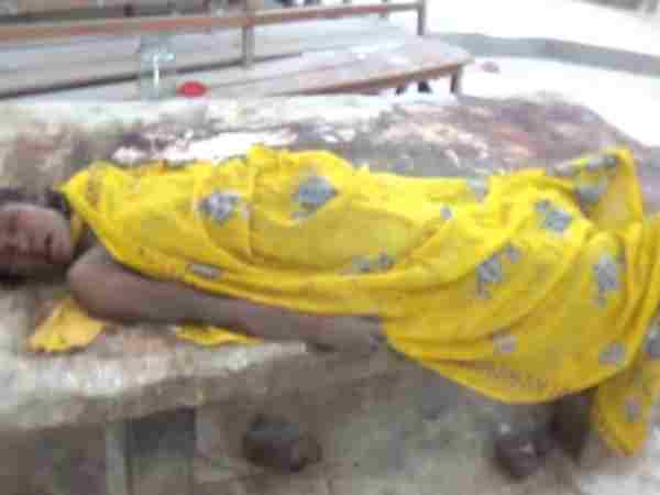 A woman brutally killed in Gaya Bihar