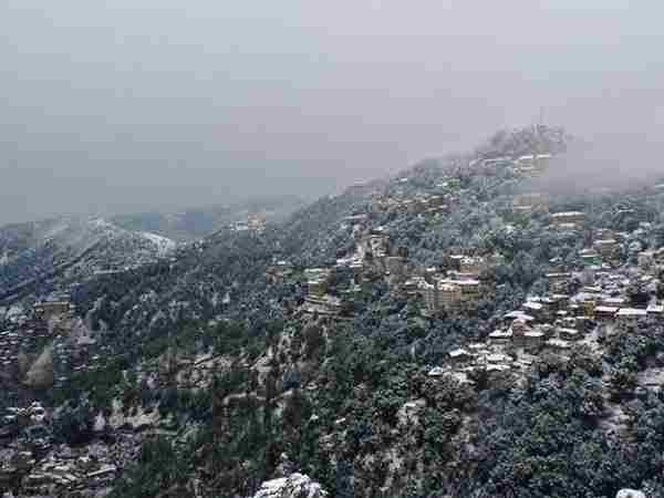 Forecast of storm and heavy rain in Himachal Pradesh