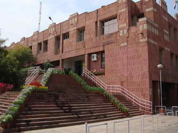 jnu professor booked for harassing female student.