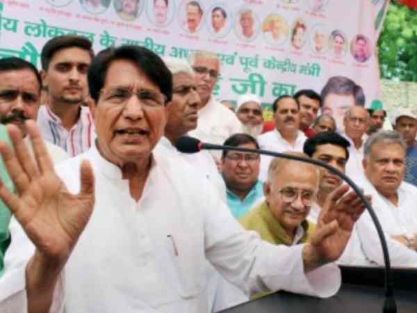 BJP attacked on RLD supremo Ajit Singh visit in riot affected region in Kairana