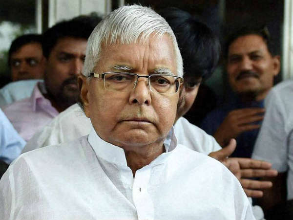 lalu Prasad Yadav out on parole arrives Patna to attend son Tej Pratap Yadav wedding