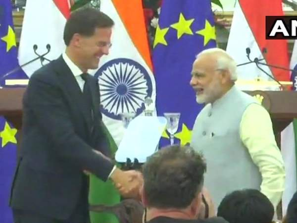 Narendra Modi and Netherlands PM Mark Rutte issue joint statement in Delhi