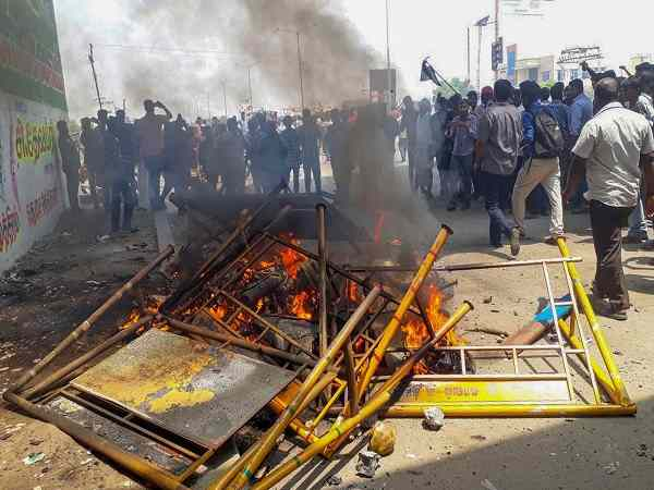 tuticorin protest tamilnadu unrest vedanta group sterlite copper factory several killed live updates