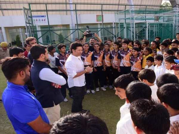 Sachin Tendulkar laid foundation of Cricket Museum in Himachal