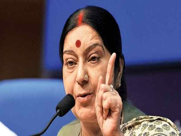 sushma swaraj says there is no place like indian occupied kashmir