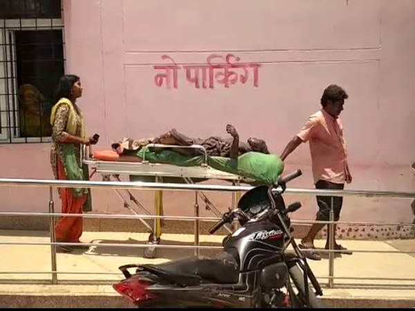 unnao boy Put the kerosene oil on a girl and blown her, death