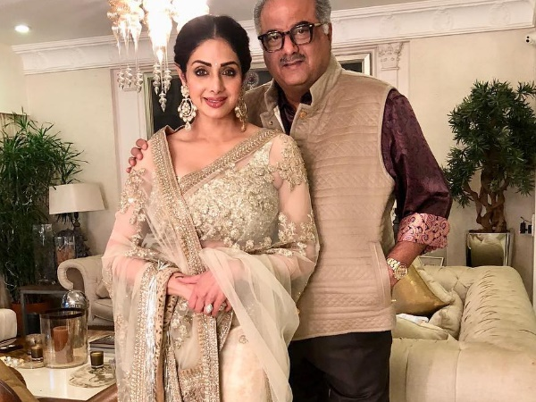 Boney Kapoor shares emotional video of Sridevi