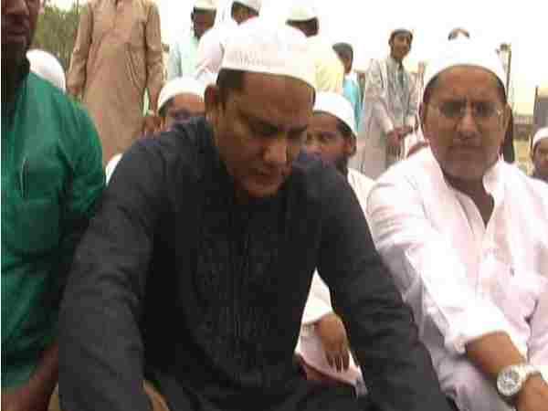 Mohammad Azharuddin Reached Moradabad Celebrated Eid Uttar P