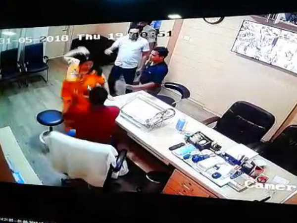 Doctor beaten by BJP leader in Bareilly
