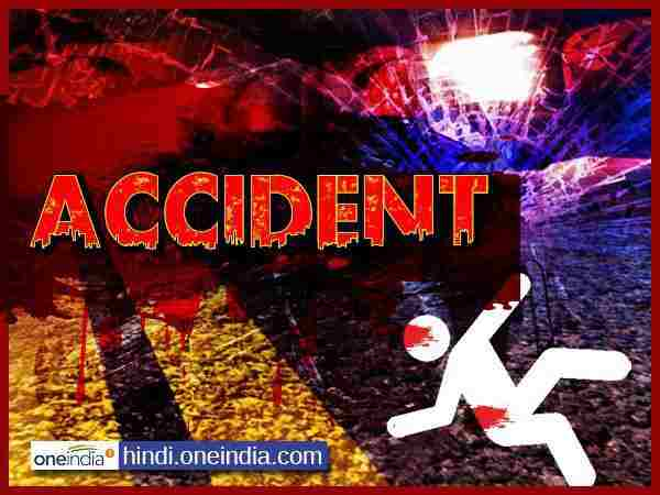 Bike collided with truck 3 died in Unnao