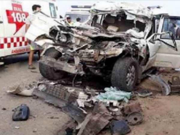 मनाली घूमकर लौट रहा दो दोस्तों का परिवार रोड पर हुआ पूरी तरह तबाह, 7 की मौत