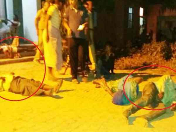 Three Arrested Attack On Dalit Village Azamgarh