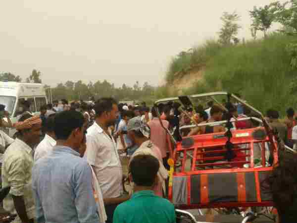 Three People Died In Accident Going To Attend A Funeral In Bahraich