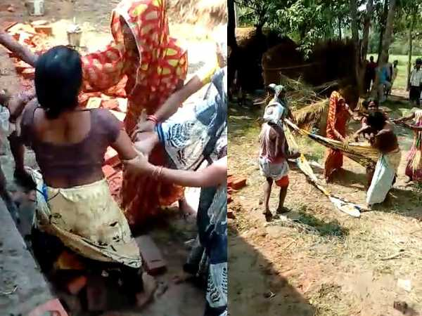 Two sides assault on road dispute in bahraich