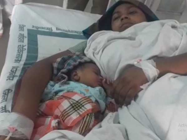 newborn baby girl will be inside the prison with her mother in Bijnor