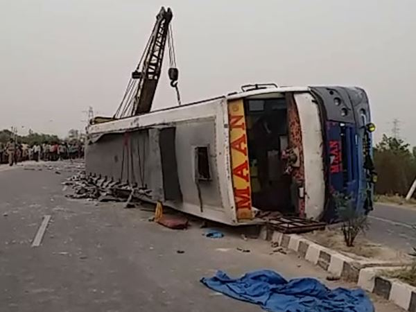 mainpuri many muslims died in bus accident