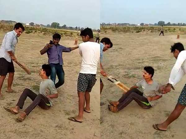 A video of beating in Bihta area is getting viral on social media