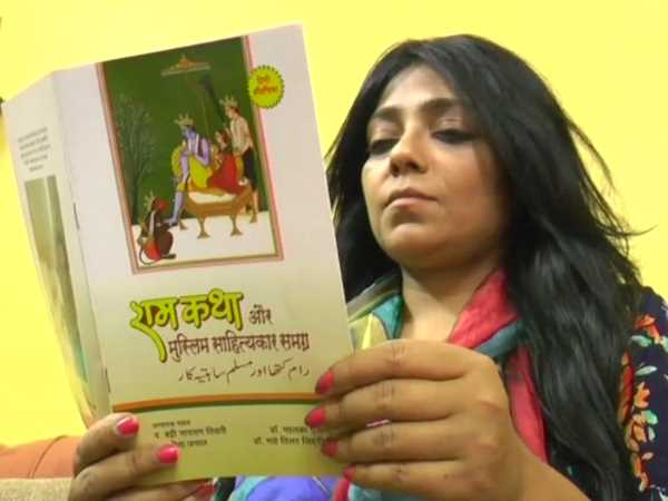 Mahi Talat Siddiqui from Kanpur translated the text of Ramayana in Urdu