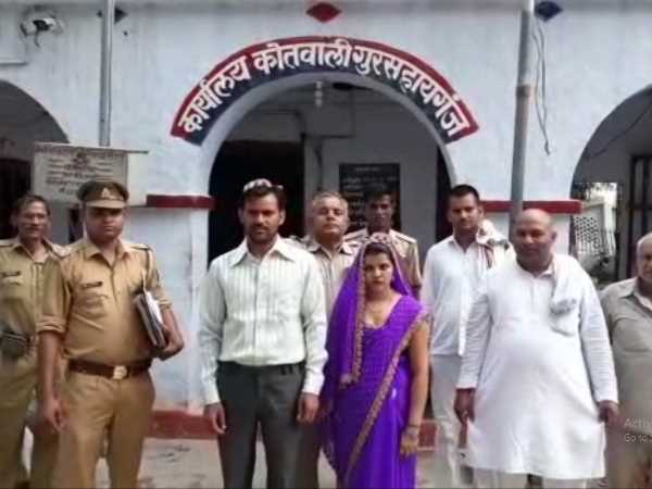 Kannauj police lover couple married in police station