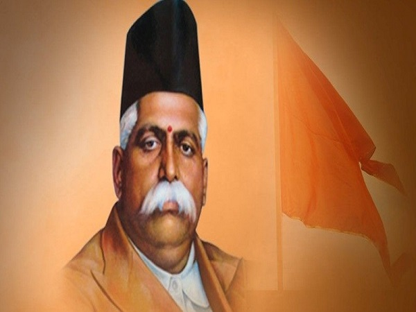 keshav baliram hedgewar, whom Pranab mukherjee Called 'Great Son of India
