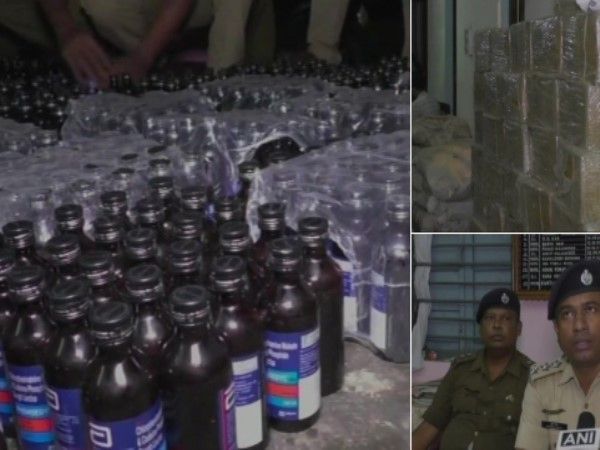 Tripura Narayanpur: 18,000 bottles of banned cough syrup seized