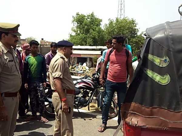 मथुरा: पुलिस भर्ती देने जा रहे दो छात्रों सहित चार की मौत