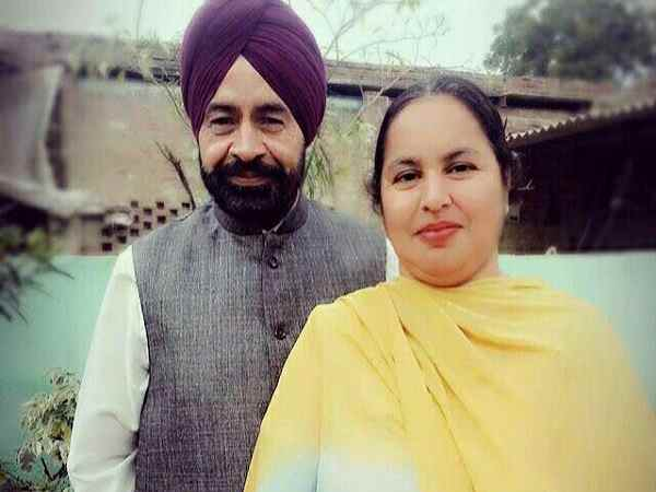 A wife husband killed in accident in Moga Punjab