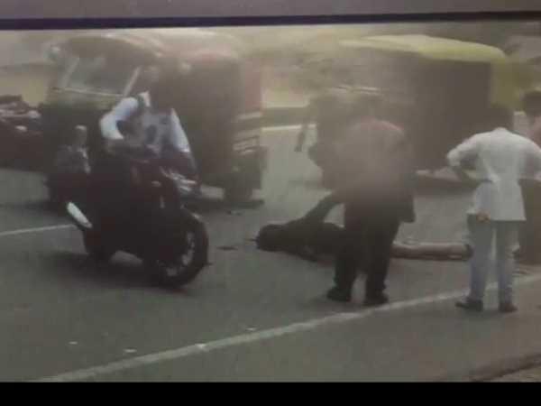 Boy Death Road Accident In Moradabad