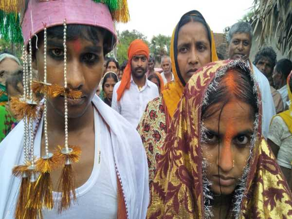 Villagers arranged marriage of Lovers couple in nalanda