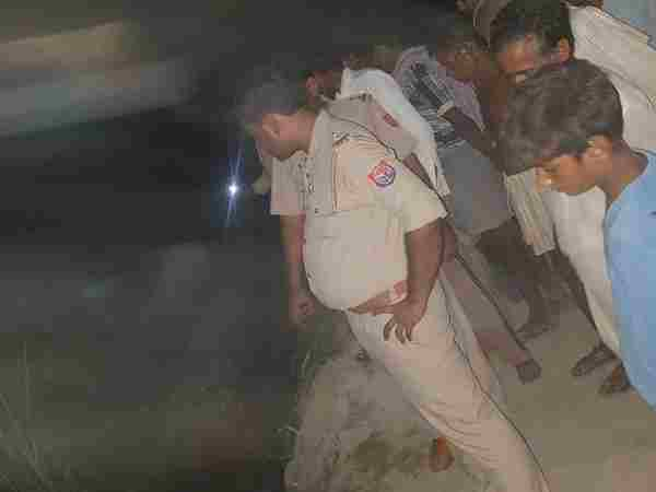 Two children died by falling in a pit on an under-construction road in bahraich
