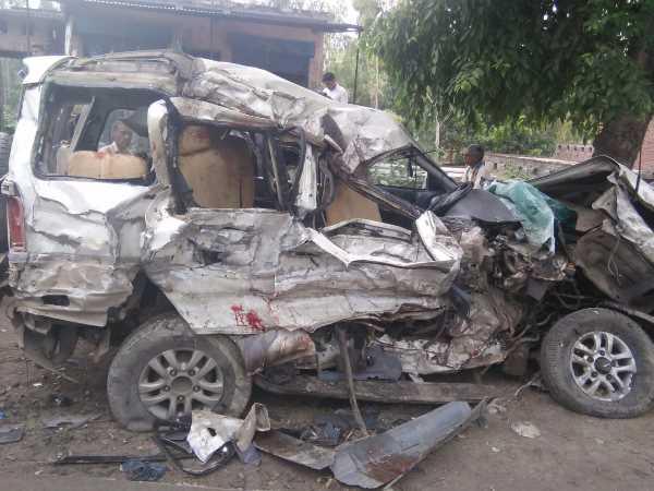 7 Killed In Car And Truck Collision In Raebareli