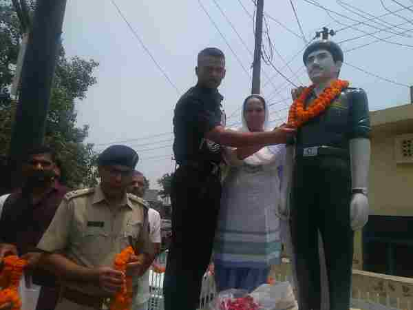 A son got selected as lieutenant in same battalion of his martyr father at kargil war